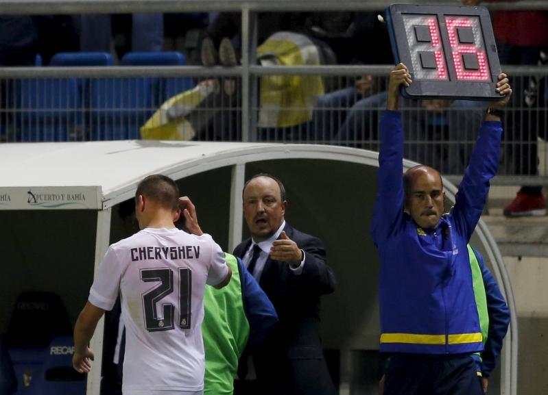 El momento en que Cheryshev fue sustituido en el Real Madrid