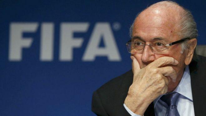 Sepp Blatter es el presidente de la FIFA, pero se encuentra suspendido por el comité de ética de la entidad.