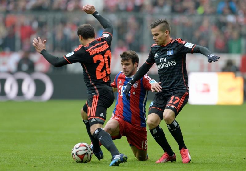 """""""No es el momento para que venga alguien a colocar su situación individual"""", dijo el entrenador del Hamburgo, Bruno Labbadia."""