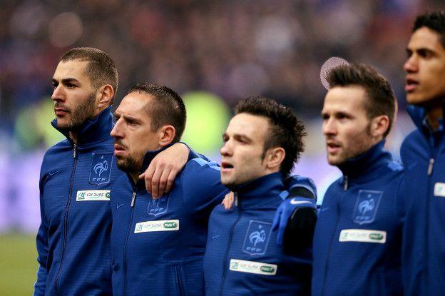 Benzema y Valbuena hablaron sobre el video erótico durante una concentración de la selección francesa.
