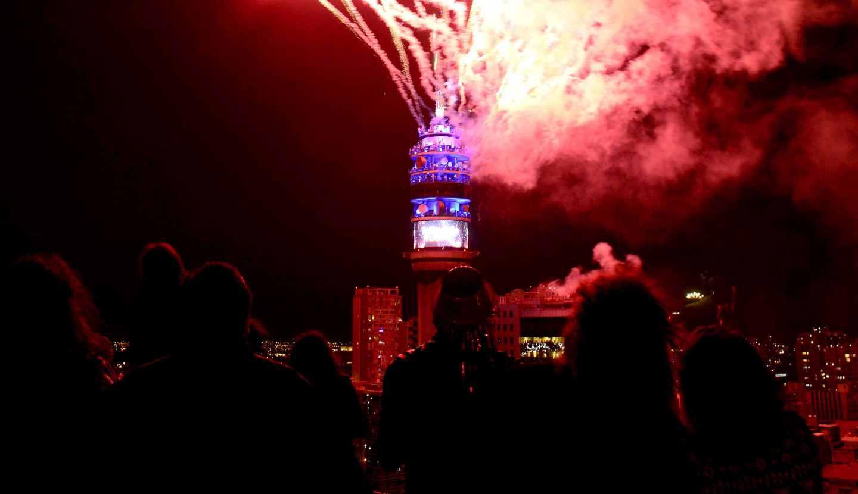 Ano Nuevo Los Desvios De Transito Por Los Fuegos Artificiales Tele 13