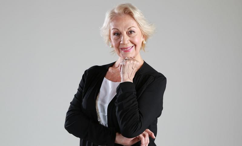 Silvia Santelices tiene 75 años y más de cinco décadas de trayectoria como actriz