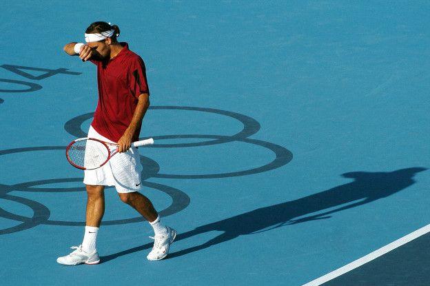 El tenista suizo cayó en seguna ronda en Atenas contra el checo Thomas Berdych.