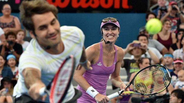 Además de buscar la medalla de oro en individuales, Federer tiene planes de jugar los torneos de dobles, el mixto junto a Martina Hingis.