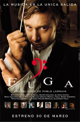 """El afiche de """"Fuga"""", la primera película de Pablo Larraín"""