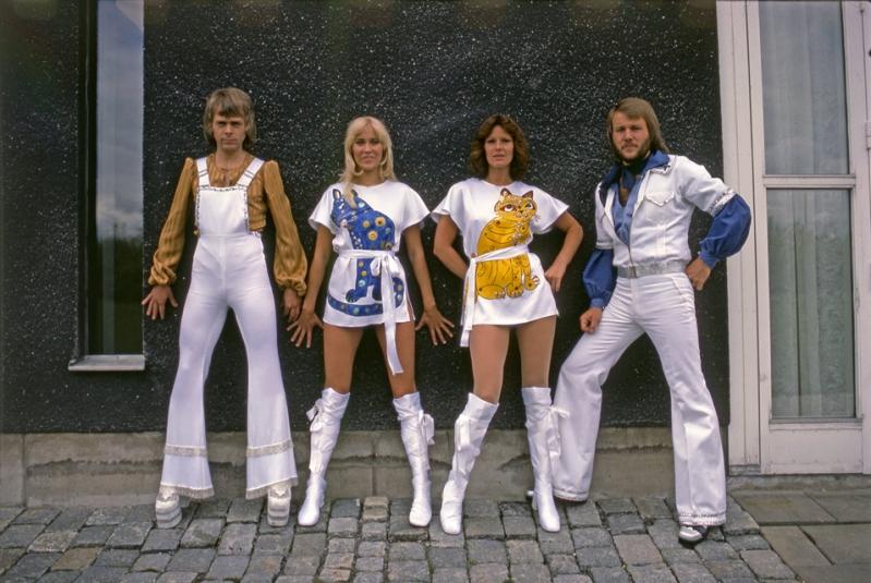 ABBA el cuarteto sueco hit de la década de los 70.