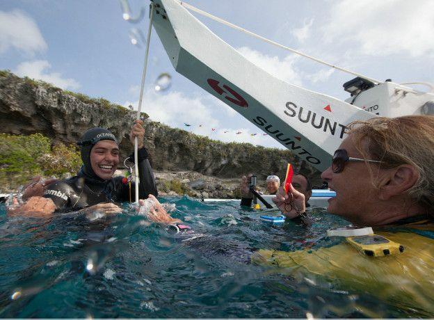 El próximo evento en el que participará Sofía será en la competencia más importante en el circuito anual de apnea, el Vertical Blue 2016, que se celebrará entre abril y mayo en las Bahamas.