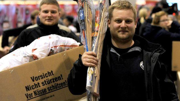 La población alemana disfruta de un alto nivel de vida.