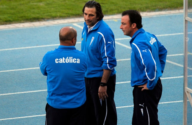 """Manuel Suárez, ayudante de Pizzi: """"Tenemos súper claro el lugar al que estamos llegando"""""""