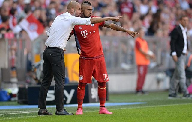 Diario alemán apunta al alcohol como detonante de molestia de Guardiola con Vidal