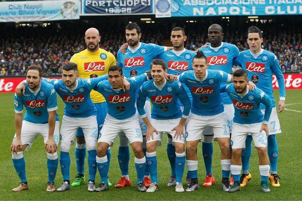 El Napoli es el actual líder de la Serie A, con dos puntos de ventaja sobre la Juventus.