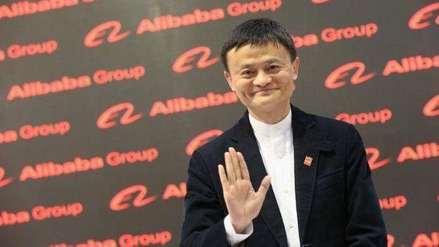 AlibabaImage copyrightGetty Image caption La mayoría del valor de Yahoo, US$33.000 millones, es atribuible a sus acciones en Alibaba.