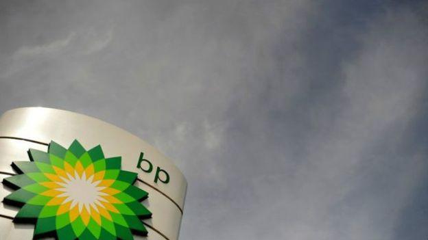 La petrolera británica BP se ha visto afectada por la baja en el precio del crudo.