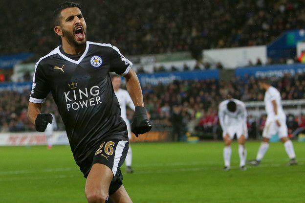 Si Vardy es la potencia, la velocidad, Mahrez representa el toque sutil, la magia del equipo. Juntos son los líderes del Leicester.