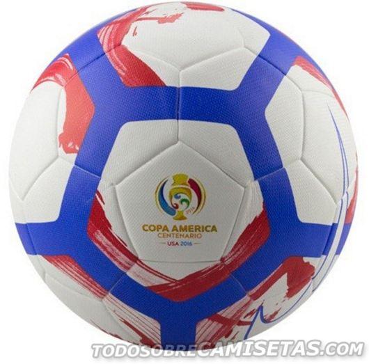 Esta es la pelota con que se jugará la Copa América Centenario  031be29df190f