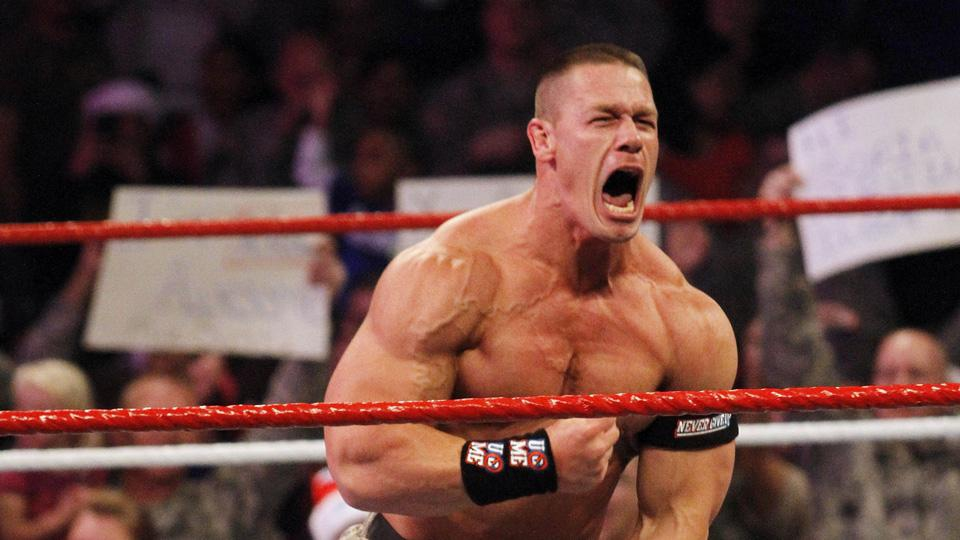 John Cena luchador de la WWE     WWE