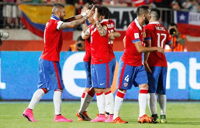 """""""La Roja"""" no se mueve del quinto lugar en el ranking FIFA"""