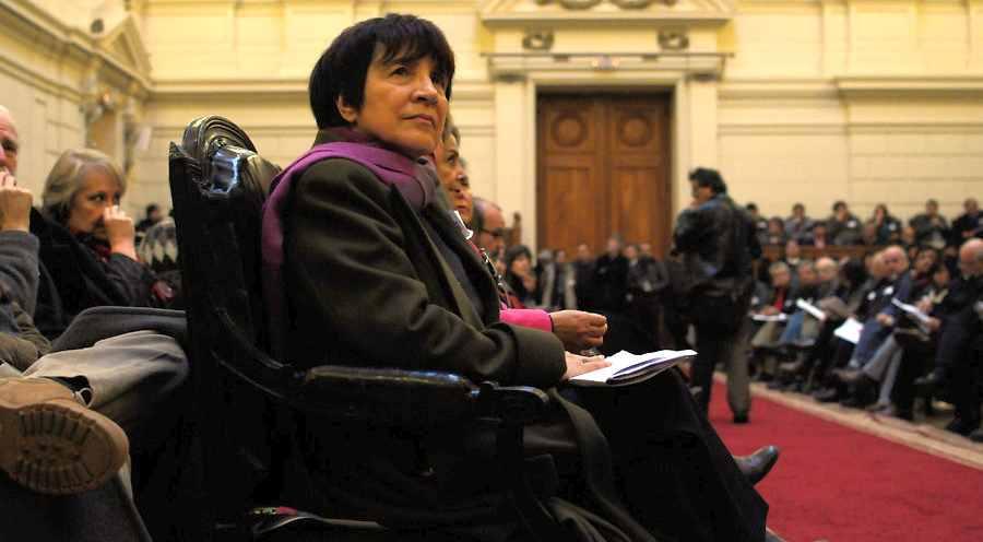 """Carmen Hertz: """"Se asiló en las enfermedades"""""""