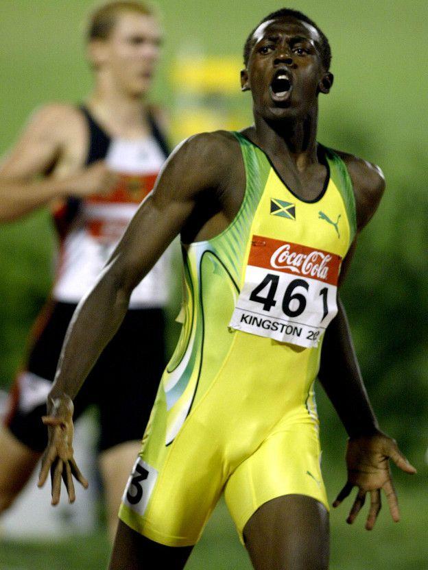 Usain Bolt surgió como superdotado en las pruebas de velocidad, aunque pocos se esperaban en que se convirtiera en el rey de los 100 metros planos.