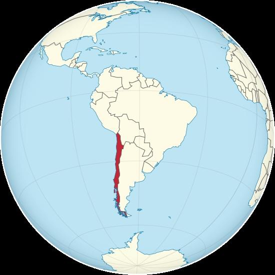 chile mapa mundo Cuán largo es Chile? Mapa pone en perspectiva su increíble exten  chile mapa mundo