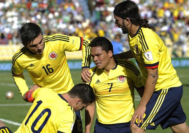 Así queda la tabla de posiciones tras la victoria de Colombia sobre Bolivia por Clasificatorias