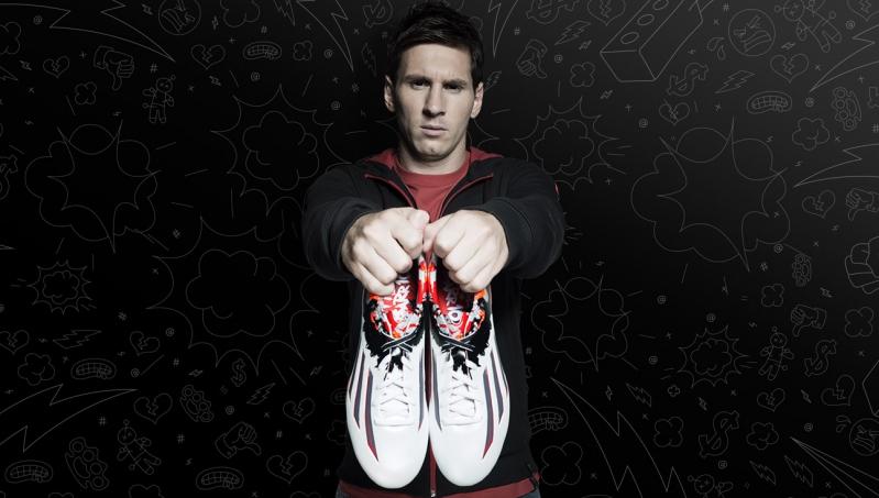Los zapatos Pibe de Barr10 que promociona Lionel Messi.