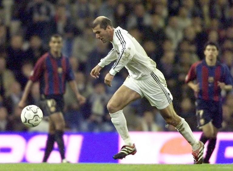 Los cinco clásicos más destacados de Zidane en el Real Madrid ...