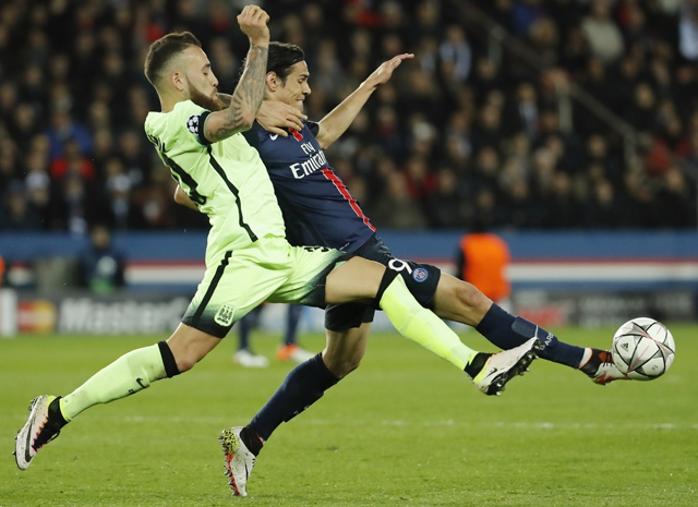 Manchester City obtiene valioso empate ante PSG en la Champions League