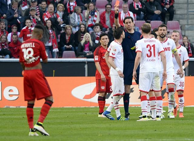 Charles Aránguiz suma minutos en victoria de Bayer Leverkusen sobre Colonia