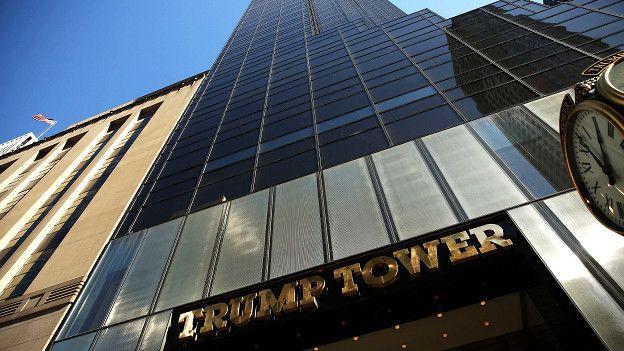 La torre Trump de Nueva York es la joya de la corona.