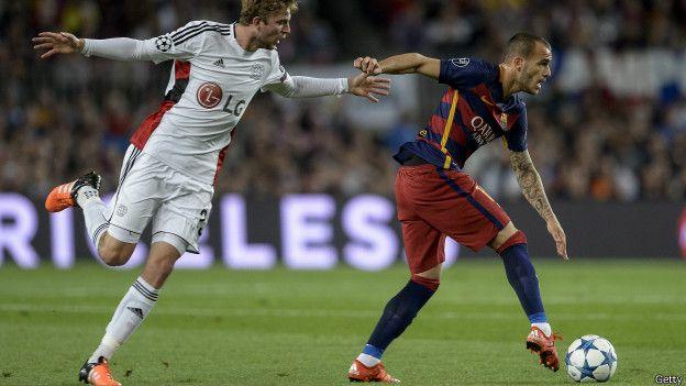 Sandro aún es muy joven como para darle el descanso necesario a alguno de los titulares en la delantera del Barcelona.