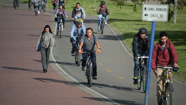 Bogotá es una de las ciudades de América Latina en donde más se usa la bicicleta.