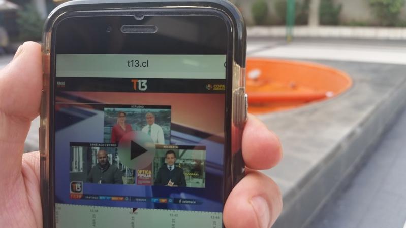 T13 Móvil se puede ver en smartphones con iOS y Android, tabletas y computadores