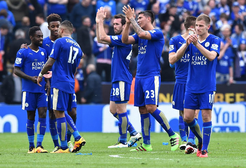 """Así celebran en redes sociales los jugadores de Leicester tras el primer título de los """"Foxes"""""""