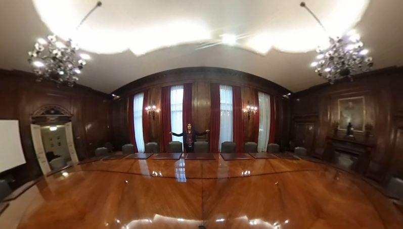 Sala consejo Banco Central.