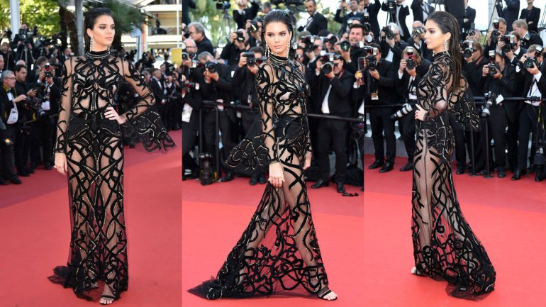El Vestido Transparente De Kendall Jenner Que Impactó En