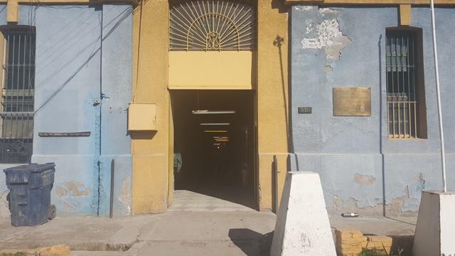 El exterior del ex Centro de Cumplimiento Penitenciario de Buin
