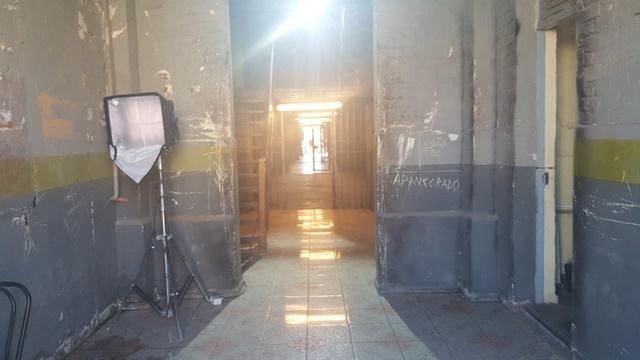 """Este espacio en su interior, hoy vacío y abierto a las grabaciones de """"Preciosas"""""""
