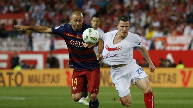 Medio español asegura que Dani Alves y Mascherano parten a la Juventus