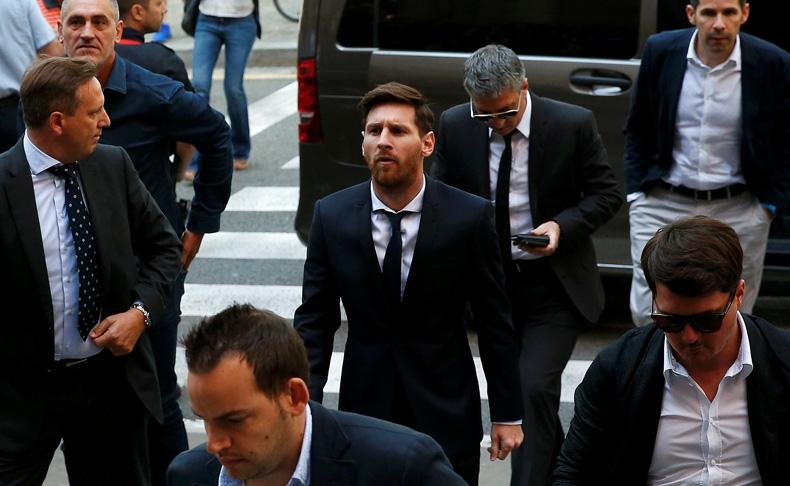 Messi asegura al tribunal que él sólo jugaba al fútbol y no sabía del dinero