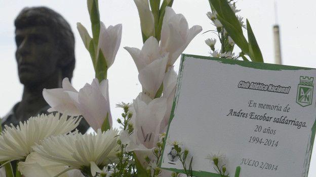 El doloroso asesinato de Andrés Escobar después del autogol de Colombia en Estados Unidos