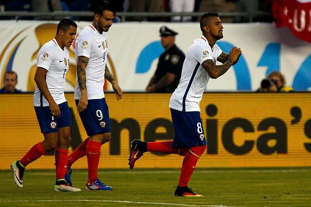 """""""La Roja"""" sale en busca de su clasificación a los cuartos de la Copa Centenario"""