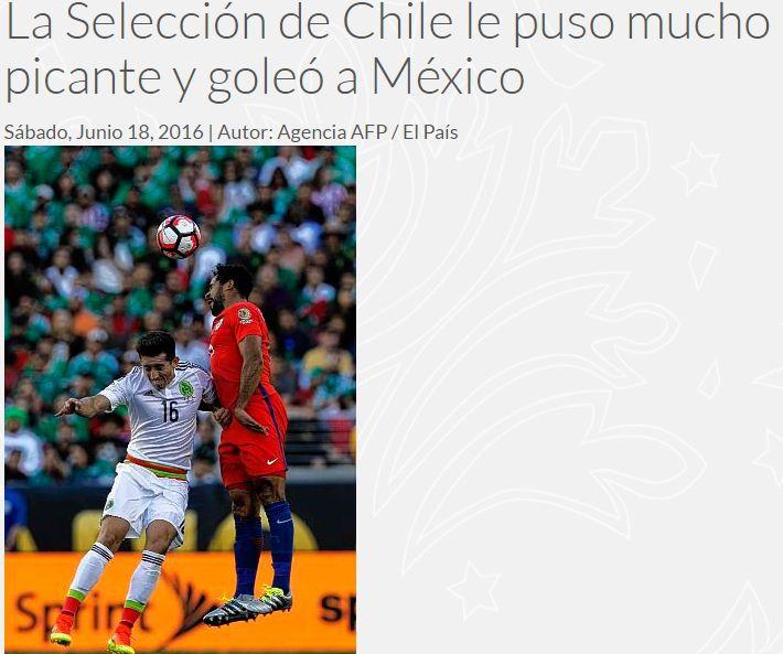 """""""El regreso del campeón"""": Así ve la prensa colombiana a Chile, próximo rival en Copa Centenario"""