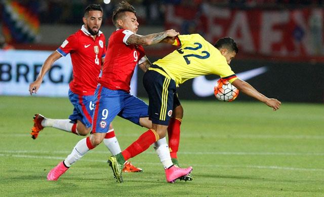 """¿Cómo le ha ido a """"La Roja"""" ante Colombia? El frente a frente histórico de cara a duelo de semifinal"""