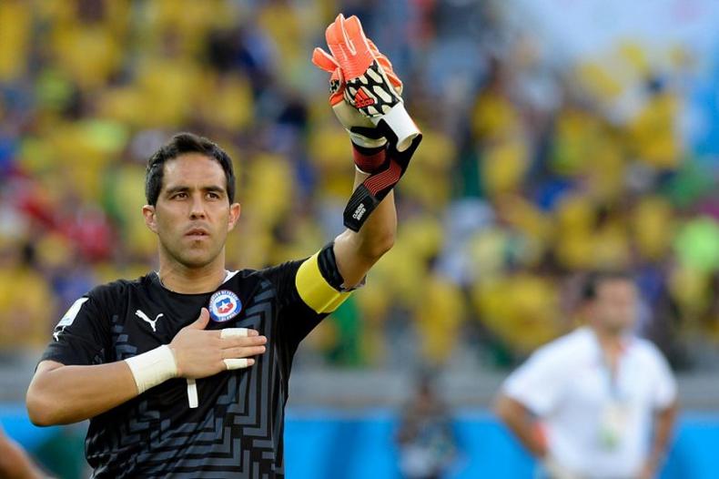 """Claudio Bravo: el ganador historial del capitán de """"La Roja"""""""