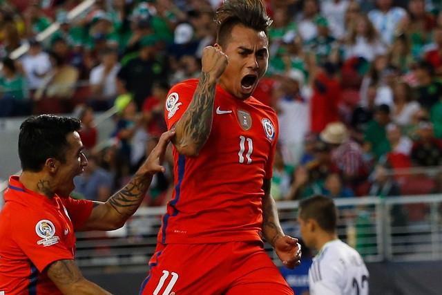 Eduardo Vargas se convierte en el máximo anotador de la Copa América Centenario
