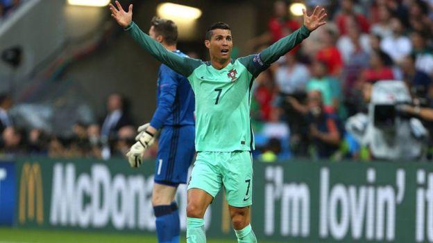 Ronaldo anotó tres goles cruciales para que Portugal pudiera llegar a la final de la Eurocopa 2016.