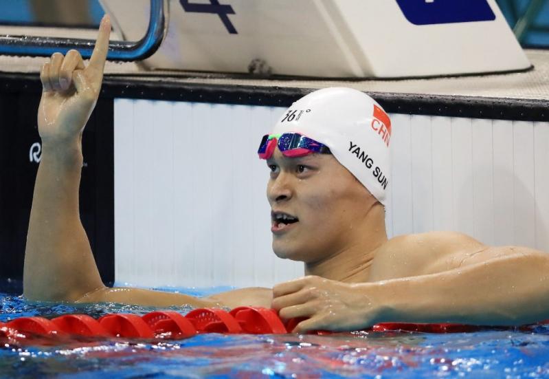 Sun Yang, la estrella de la natación china.