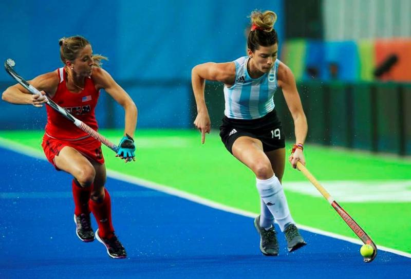 La selección argentina de hockey perdió su primer partido frente a Estados Unidos.
