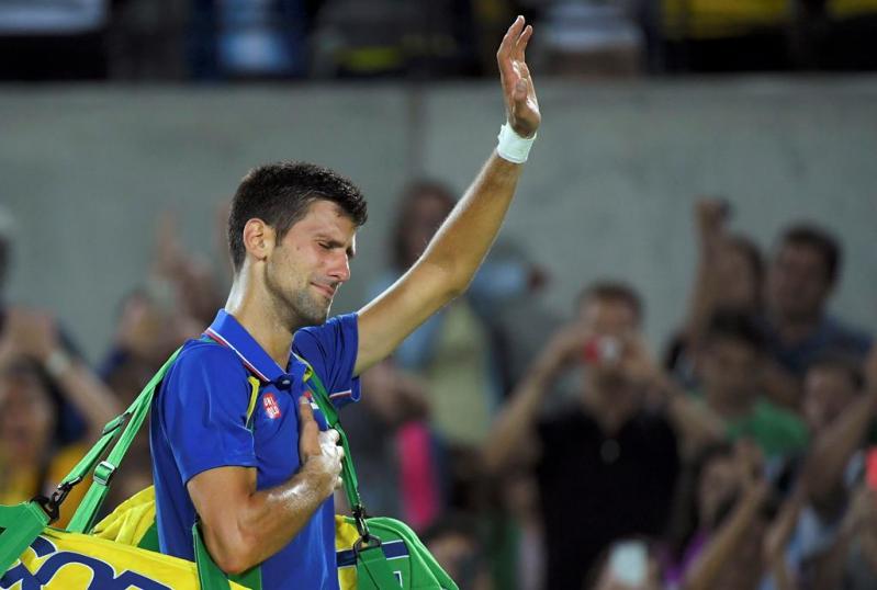 Novak Djokovicno podrá colgarse un oro olímpico en estos juegos, el único trofeo deportivo que no ha conquistado.